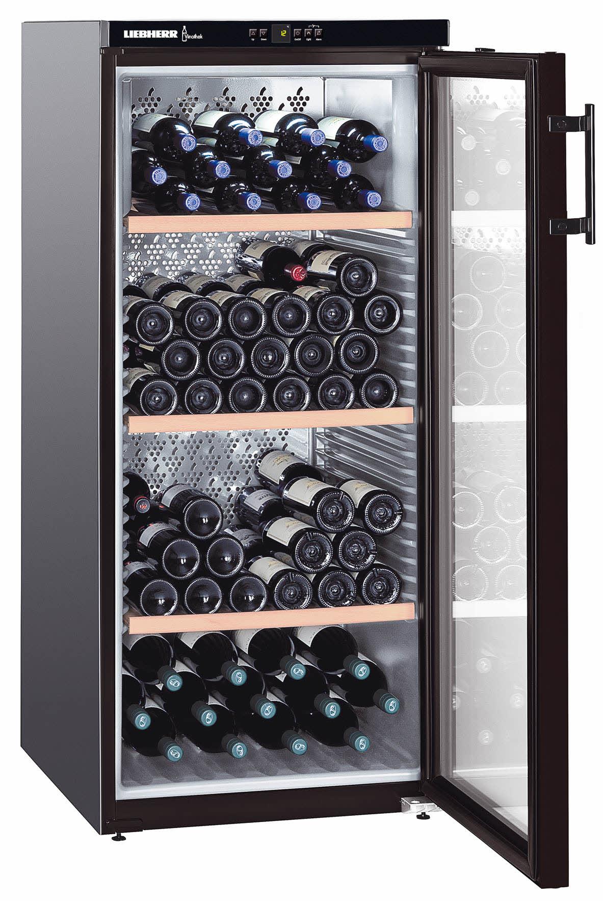 wkb 3212 wine cabinets vinothek liebherr armoire vin. Black Bedroom Furniture Sets. Home Design Ideas