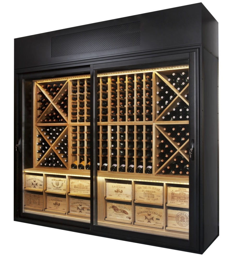 cave a vin armoire cave vin inox cave vin moyenne capacit manoir gamme prestige porte vitre. Black Bedroom Furniture Sets. Home Design Ideas