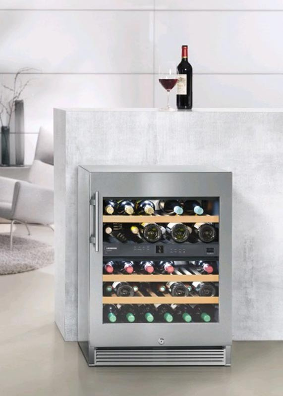 wtes 1672 wine cabinets vinidor liebherr armoire vin. Black Bedroom Furniture Sets. Home Design Ideas