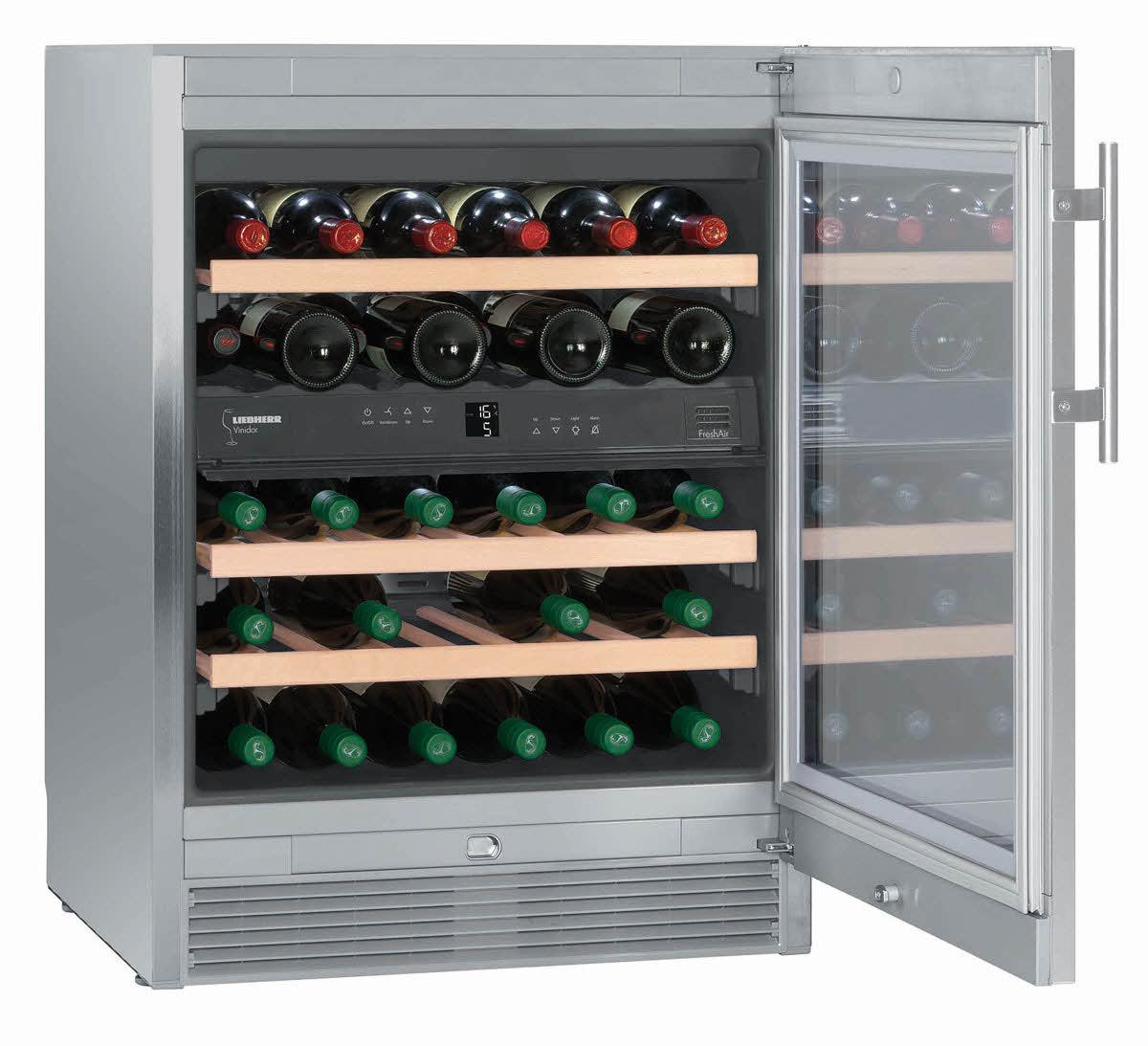 wtes 1672 wine cabinets vinidor liebherr armoire vin. Black Bedroom Furniture Sets. Home Design Ideas